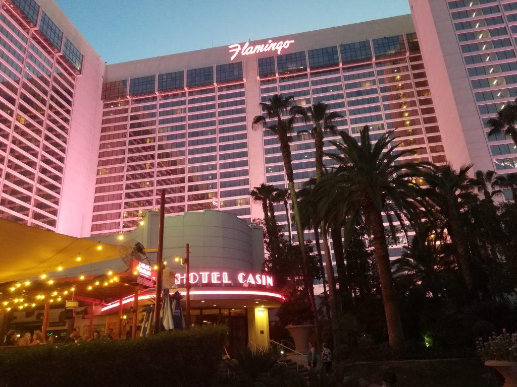 Flamingo fondato da Bugsy Siegel Las Vegas