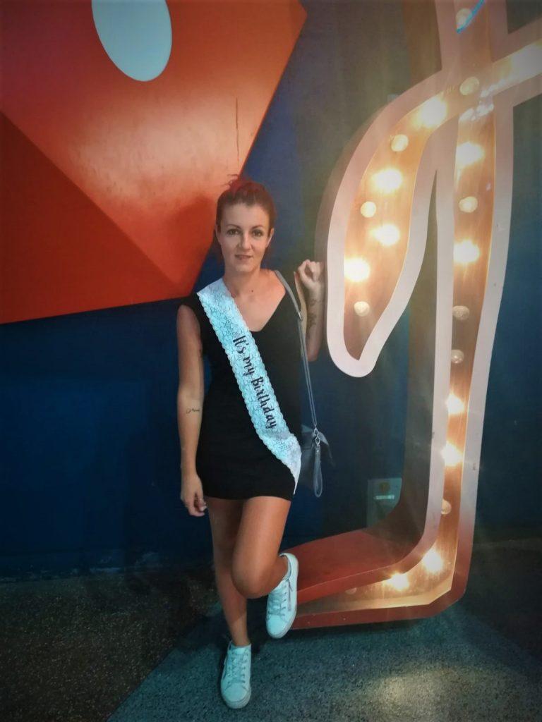 Festeggiare finalmente il compleanno a Las Vegas Simo birthday girl