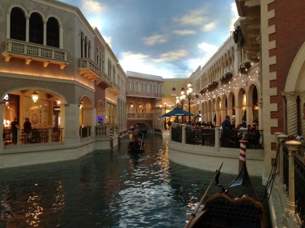 All'interno del Venetian Hotel and casino - Las Vegas festeggiare il compleanno a Las Vegas