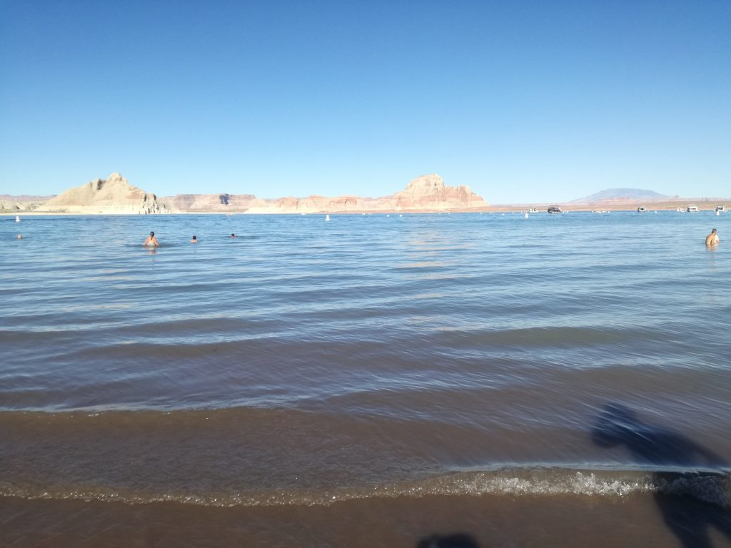 Da Las Vegas alla Monument Valley - Sosta al Lake Powell