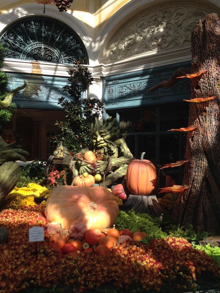 Bellagio celebra l'autunno - foto novembre 2015 - Top 10 attrazioni gratuite a Las Vegas