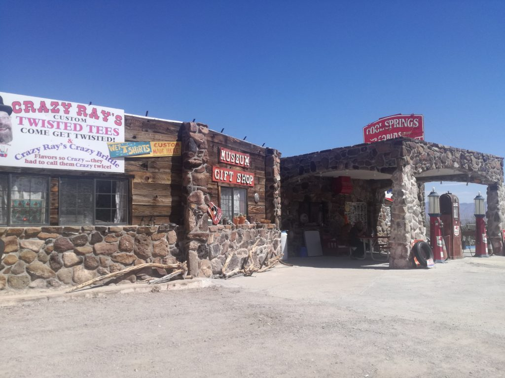 Cool Springs gas station Oatman route 66 Arizona Ghost Town