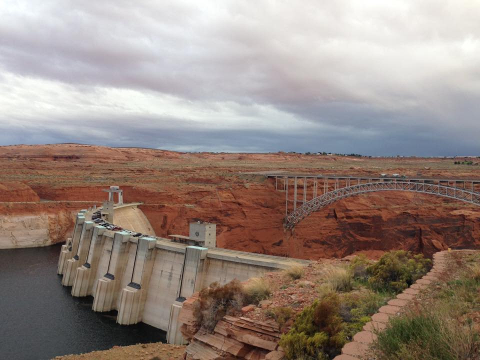 Glen Canyon Dam - visita Page - Arizona