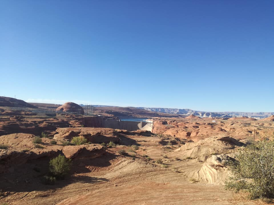 Glen Canyon Dam Overlook - visita  Page - Arizona