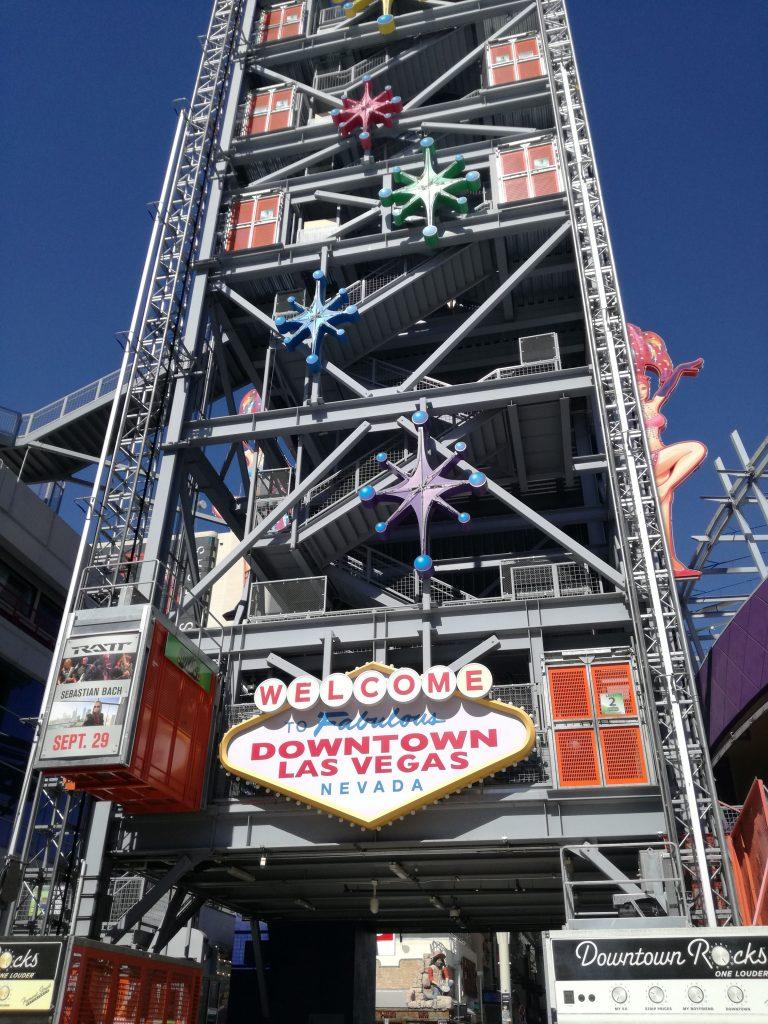 Slotzilla Fremont Street experience Las Vegas con meno di 50 dollari al giorno