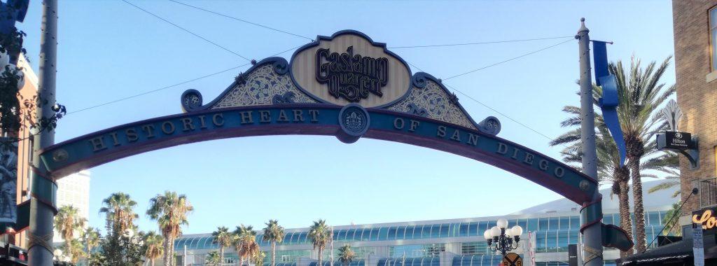 Gaslamp Quarter - Visita di San Diego - California