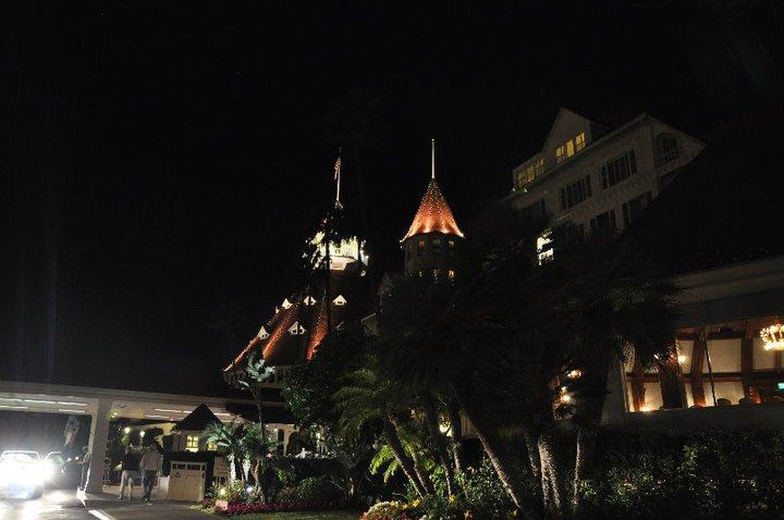 Hotel del Coronado by night - Coronado Island - San Diego