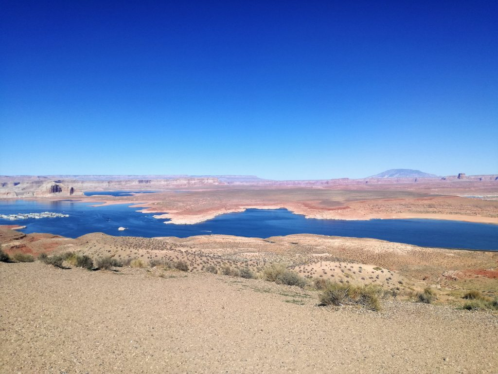 Cosa vedere sulle rivede del Lake Powell a Page in Arizona - Wahweap Overlook