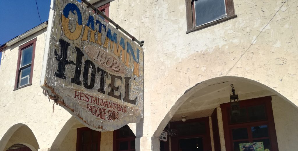 Oatman Hotel dal 1902 - Oatman - Route 66 - Arizona