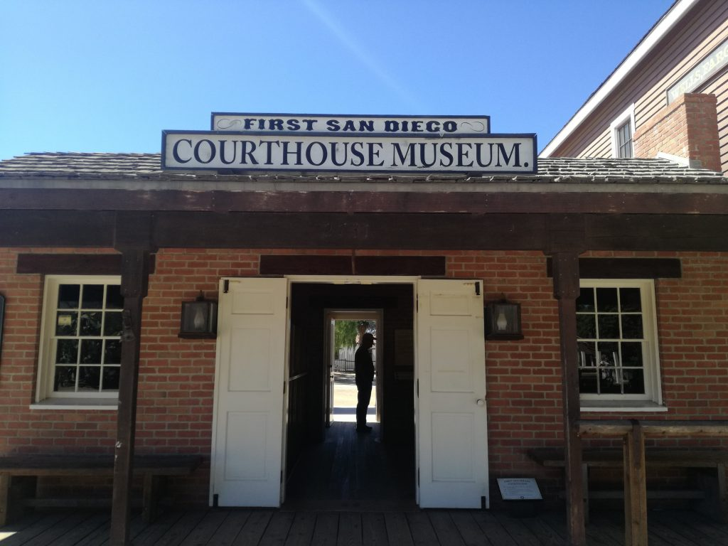 cosa vedere nella Old Town San Diego - First San Diego Courthouse Museum
