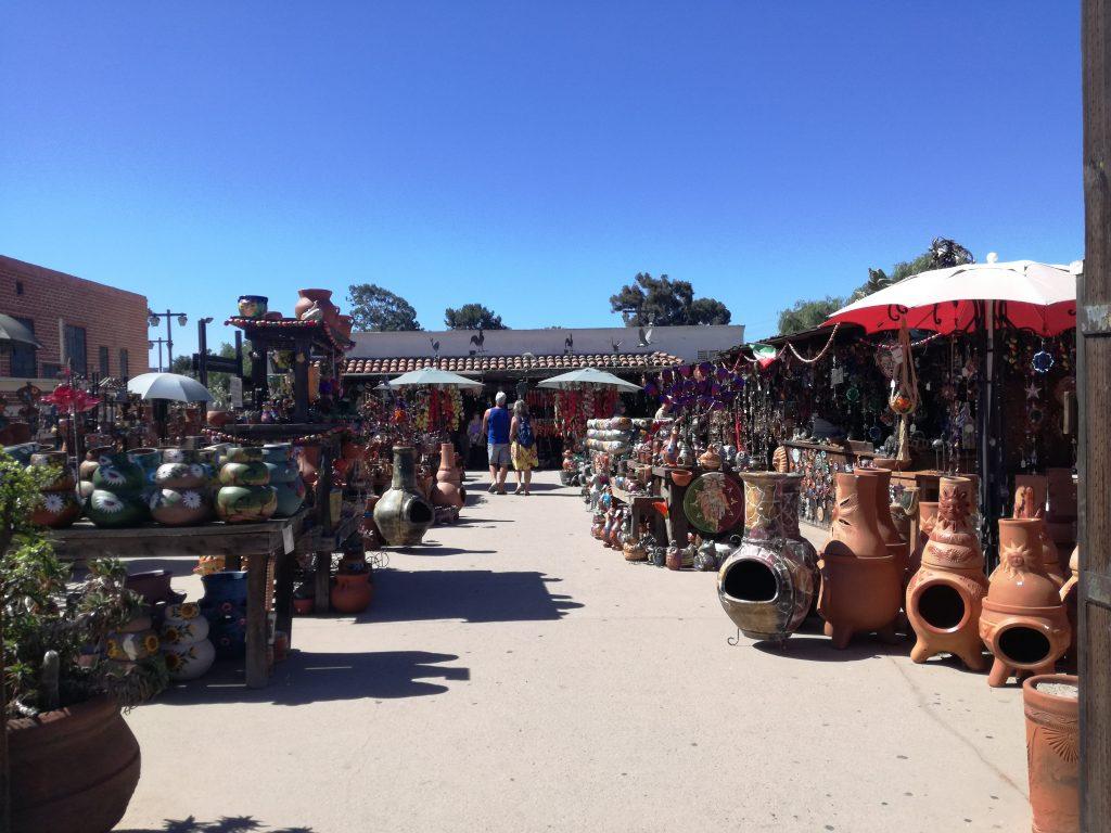 Cosa vedere nella Old Town San Diego - Mercati di prodotti locali