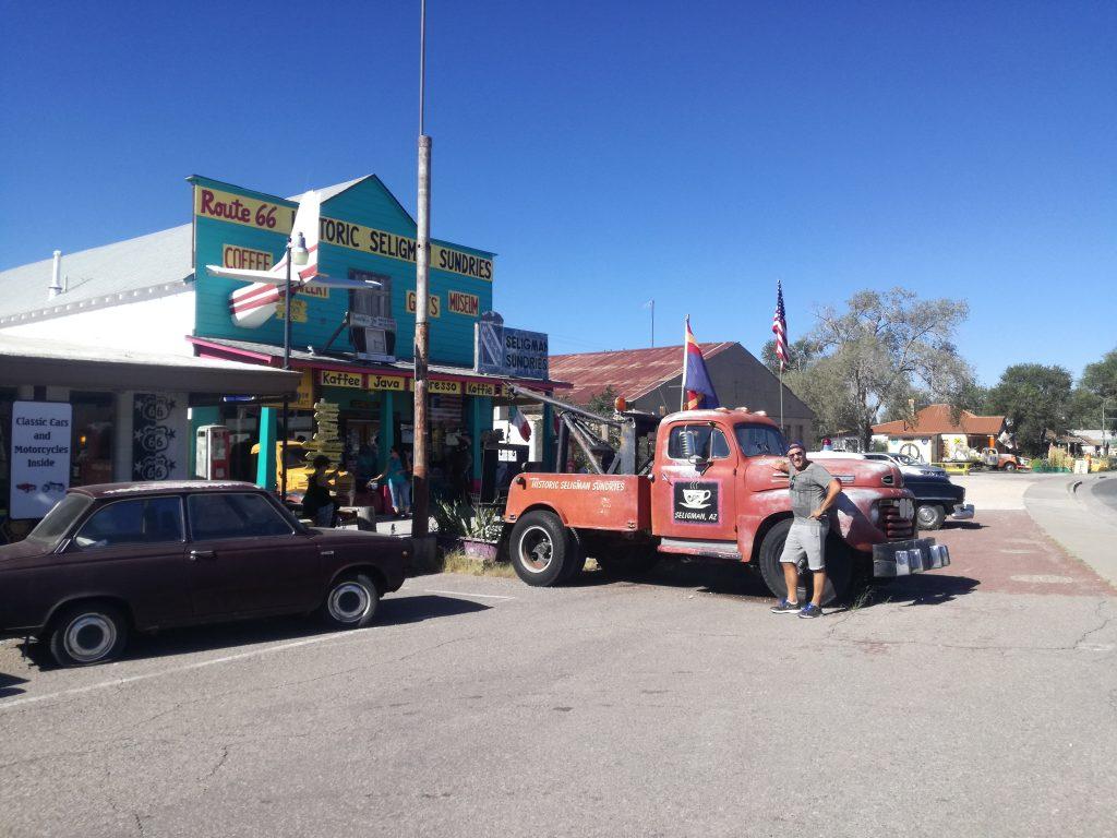 Get your kicks on Route 66 - Historic Seligman Sundries Arizona