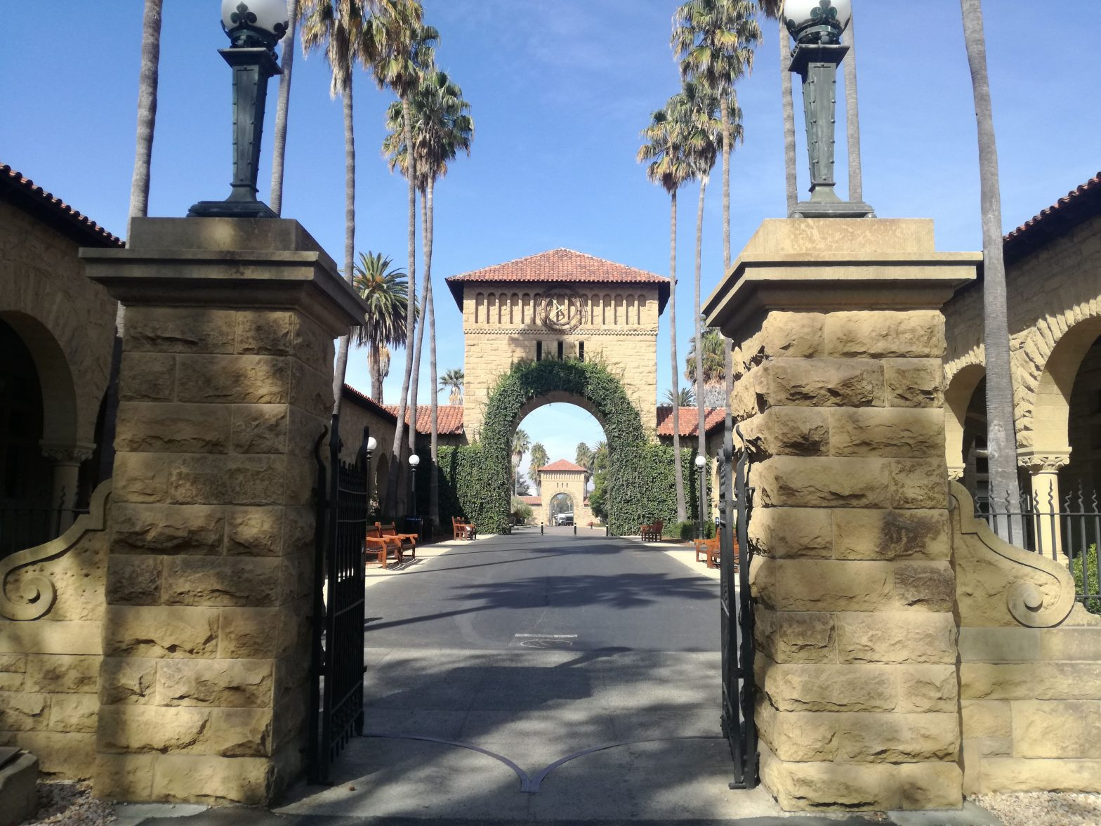 Stanford University cancello ingresso