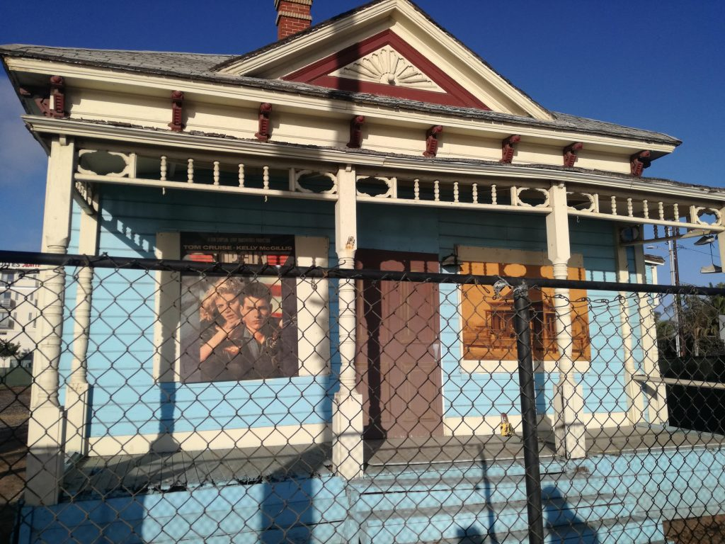 riprese Top Gun San Diego Casa di Charlie