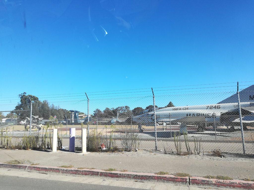 riprese Top Gun San Diego Miramar air station
