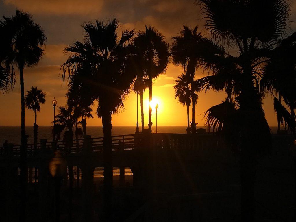 tramonto California