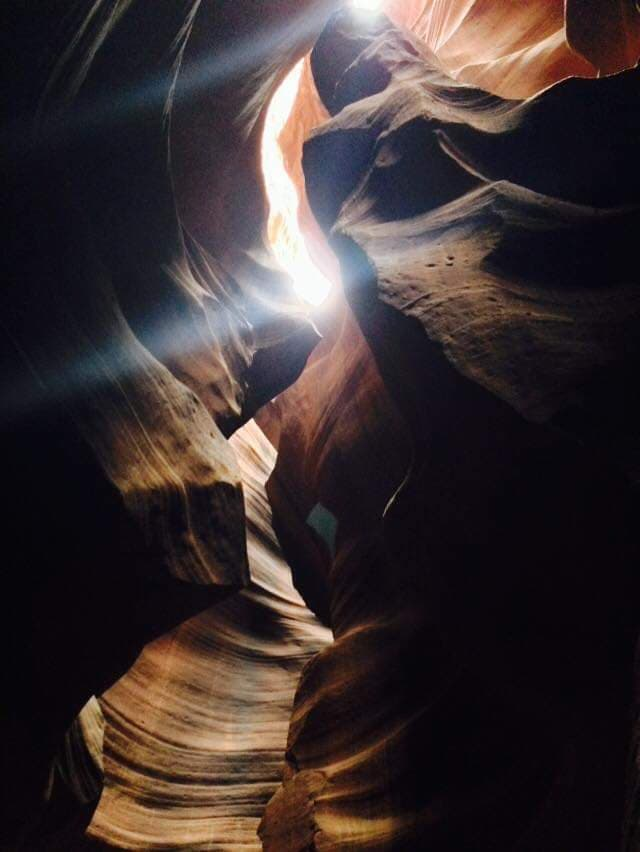 Upper Antelope Canyon - Page - Light Beams