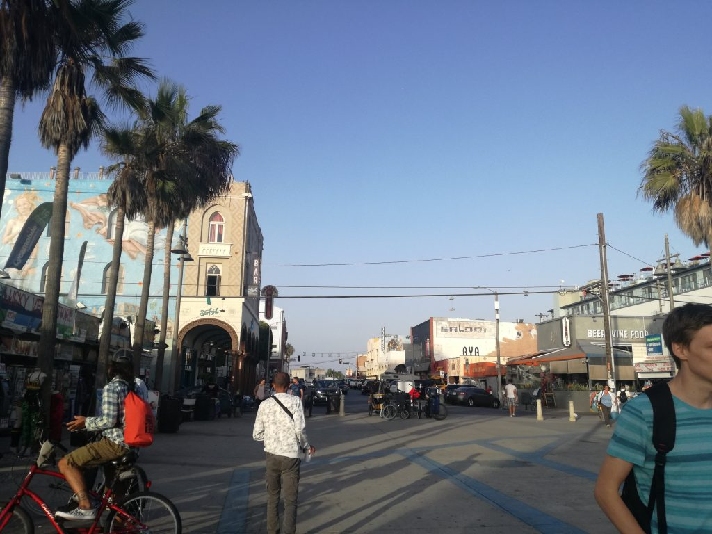 Venice Beach Cartello