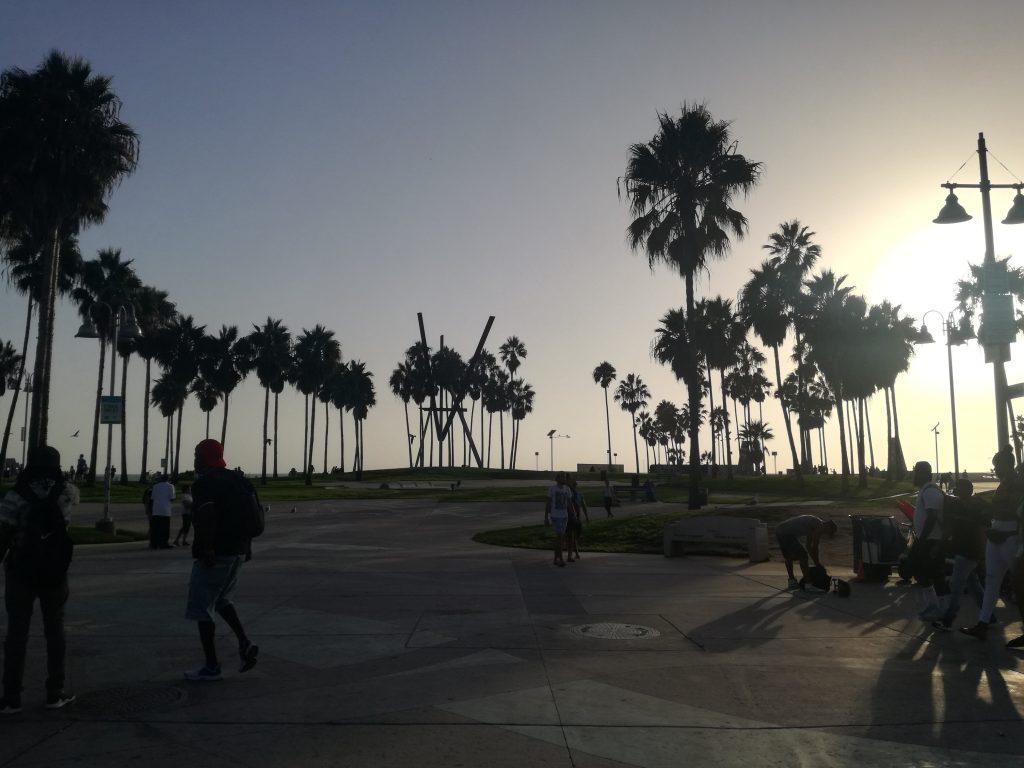 Venice Beach Tramonto