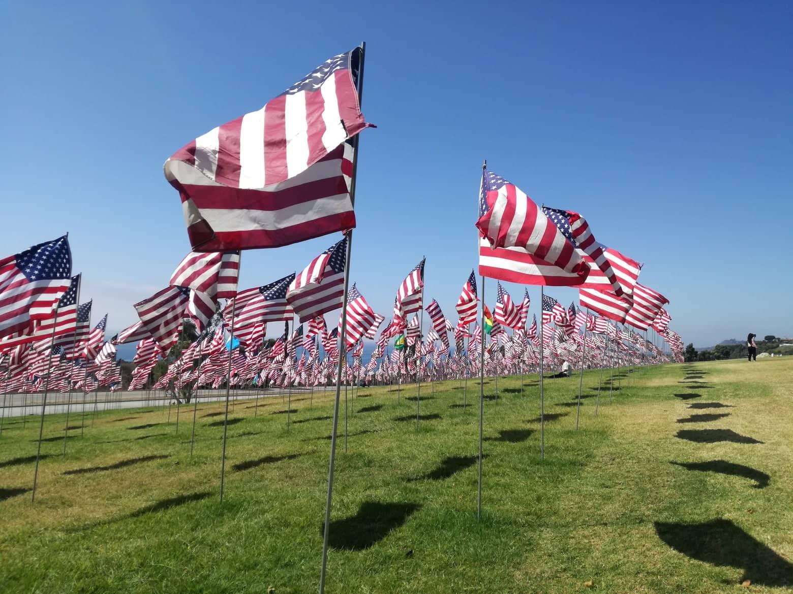 9/11 memorial, Pepperdine University, malibu