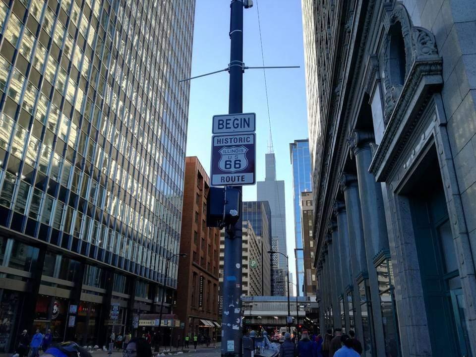 Route 66 begin - attrazioni di Chicago