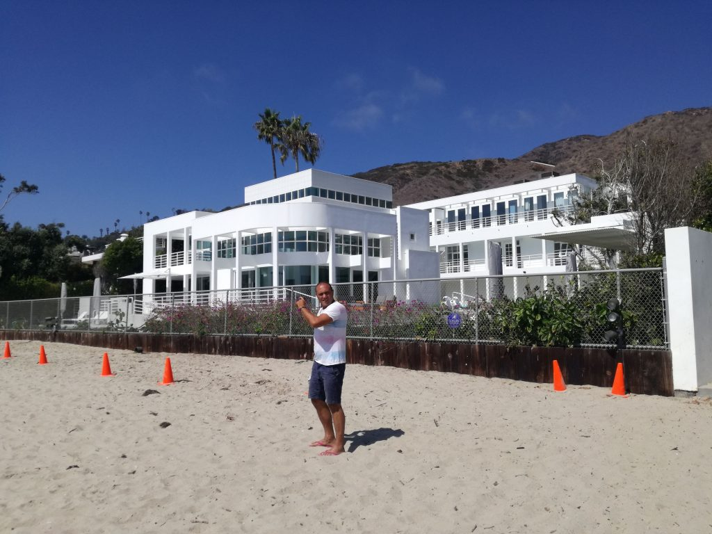Dome che fotografa ovunque - Spiagge di Malibu