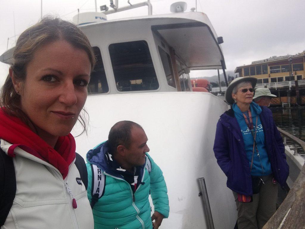 pronti per avvistamento balene a Monterey
