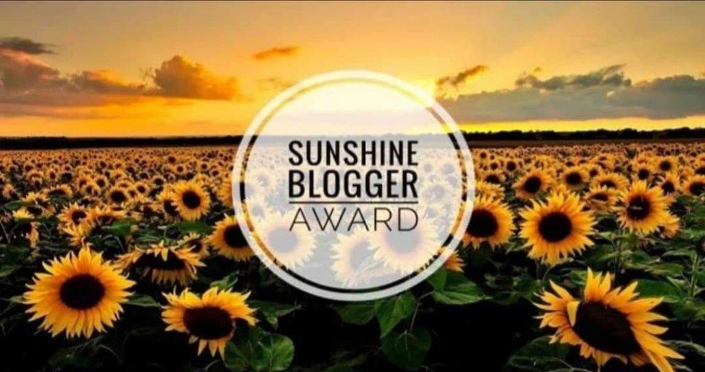 Sunshine blogger award usa la valigia vincitori 2019
