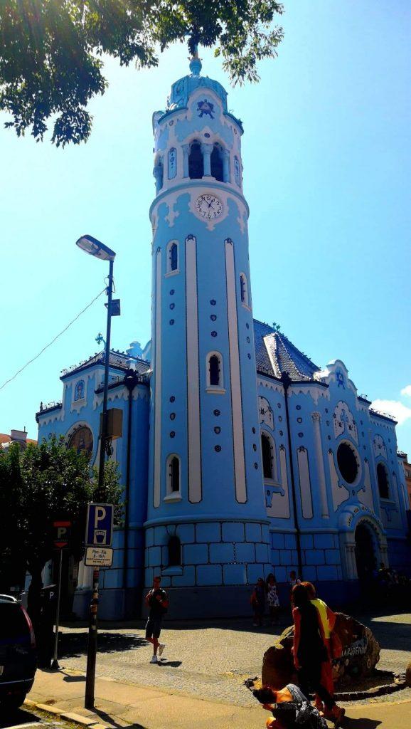 Chiesa Blu - Bratislava in un giorno