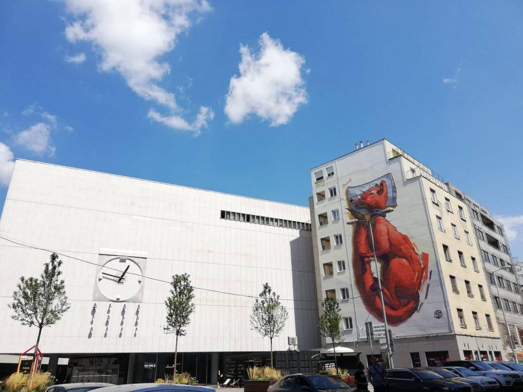 Bratislava in un giorno - Murales
