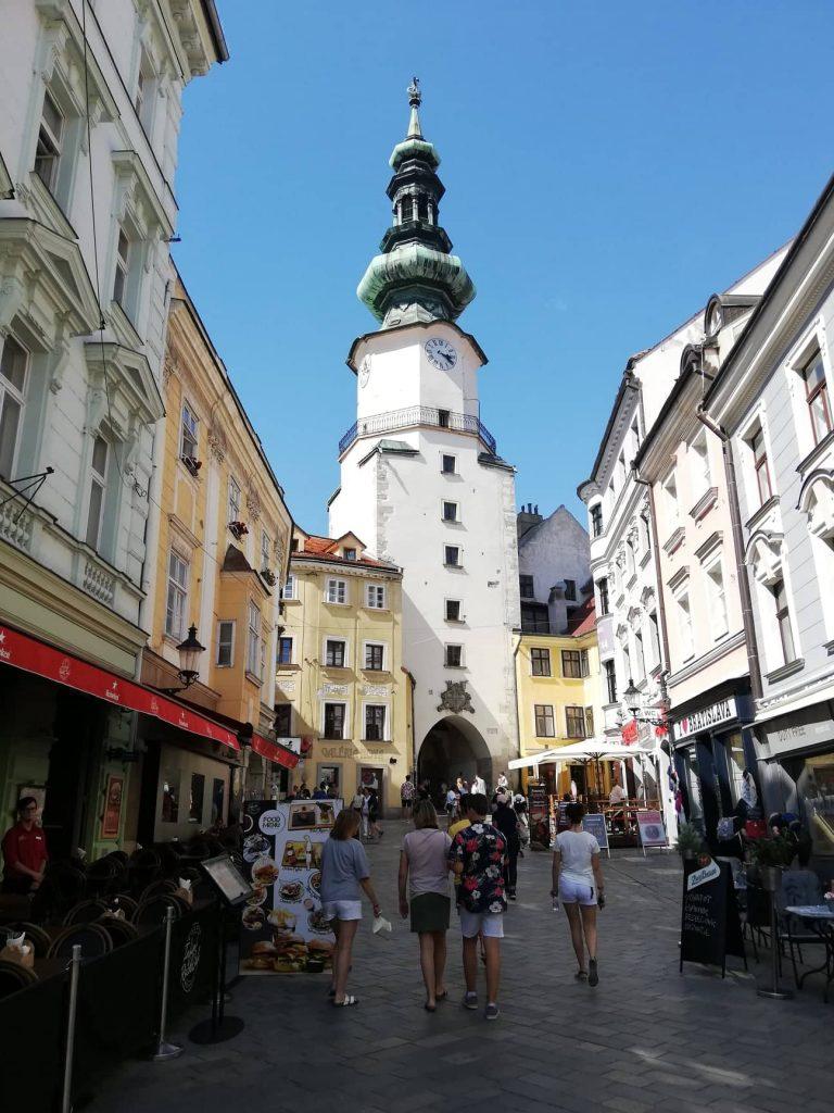Bratislava in un giorno - Porta San Michele
