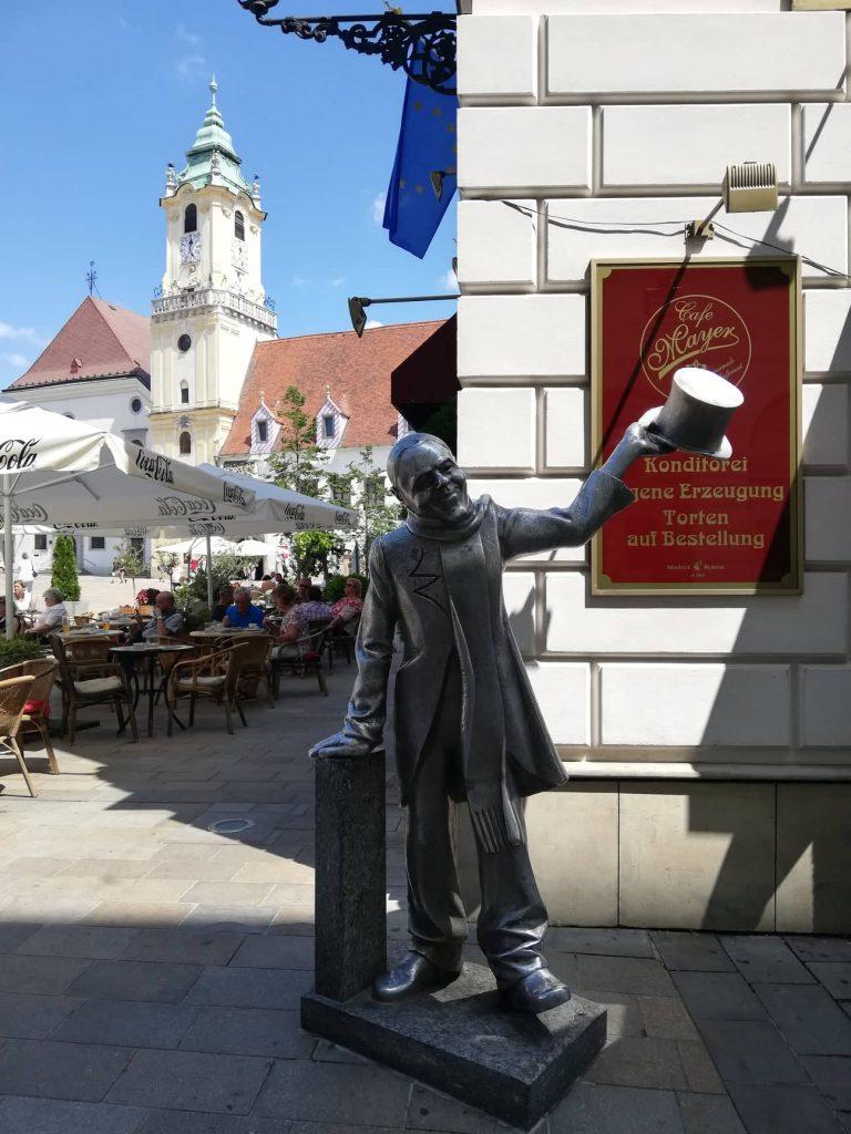 Bratislava in un giorno - Ignac Lamar statua