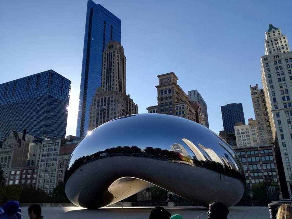 Il famoso Cloud Bean a Chicago