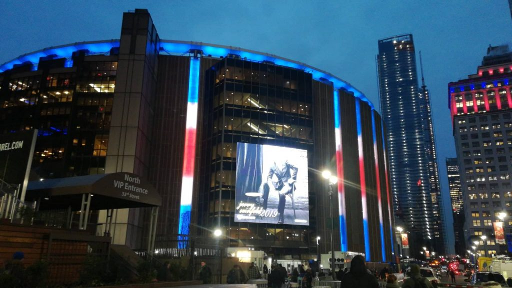 Il mitico Madison Square Garden
