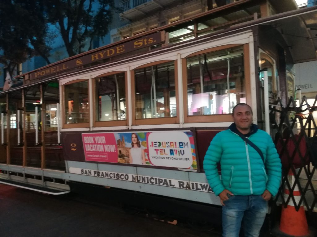 Cable car San Francisco - Ciao America