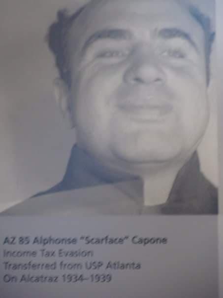 Anche Al Capone è stato prigioniero della prigione nell'isola di Alcatraz - visita San Francisco