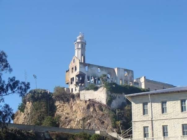 visita alla prigione di Alcatraz - il faro