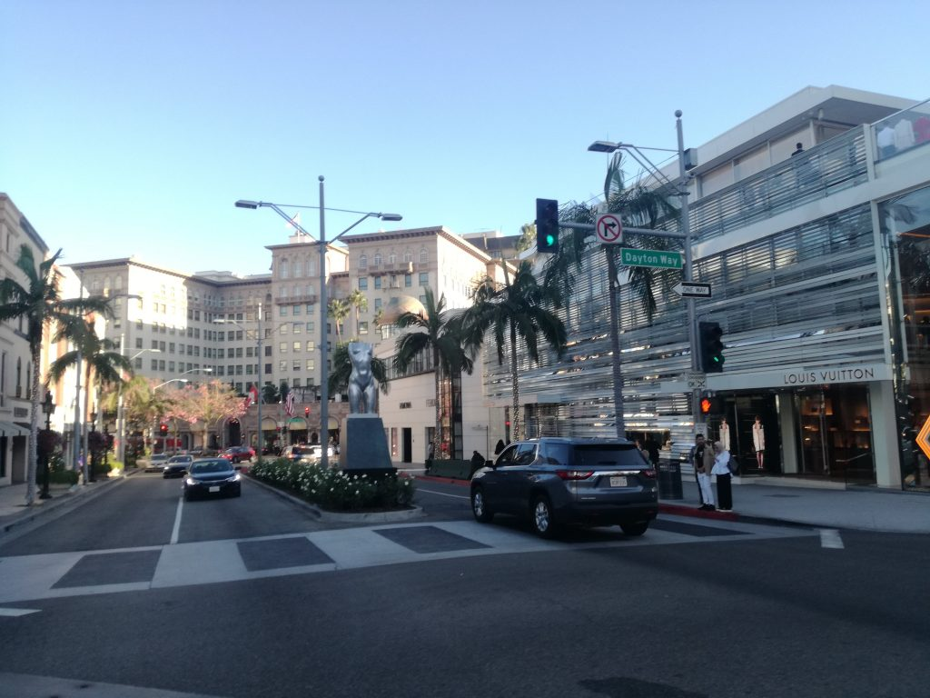 Rodeo Drive - visita a Hollywood