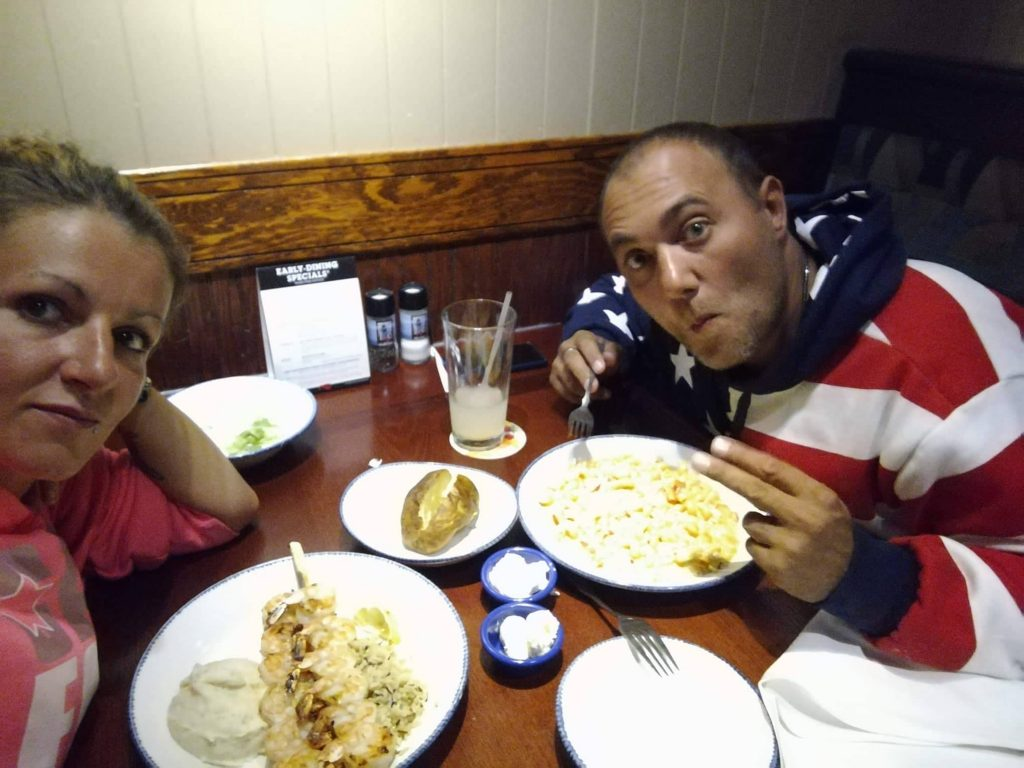 Noi al Red Lobster a San Francisco - Ciao America