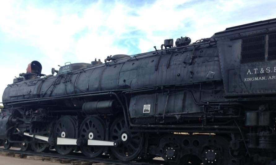 Kingman Locomotive Park - attrazioni lungo la Route 66 - Arizona foto del 2015