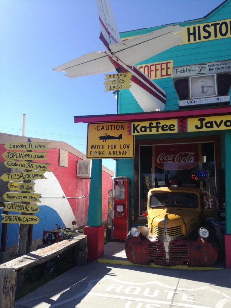 Attrazioni lungo la Route 66 in Arizona - Historica Seligman Sundries