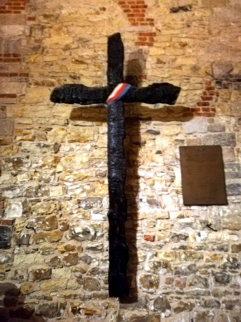 Croce incendio di Praga - Tour Old town Hall Municipio della città Vecchia