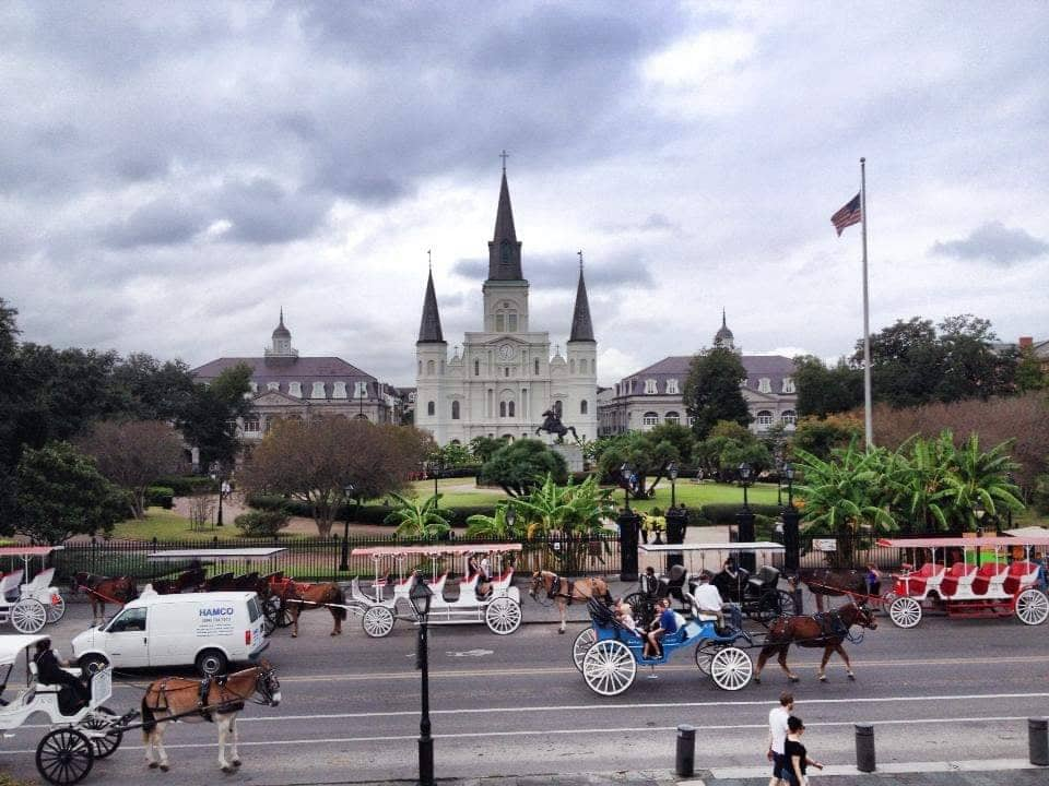 Scoprire New Orleans Louisiana St Luis Cathedral e Jackson Square