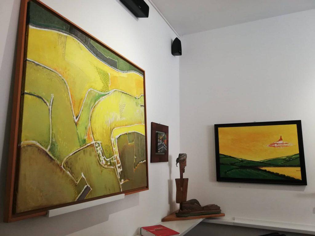 Mostra di opere d'arte di Ezio Bartocci - Cupramontana photowalk