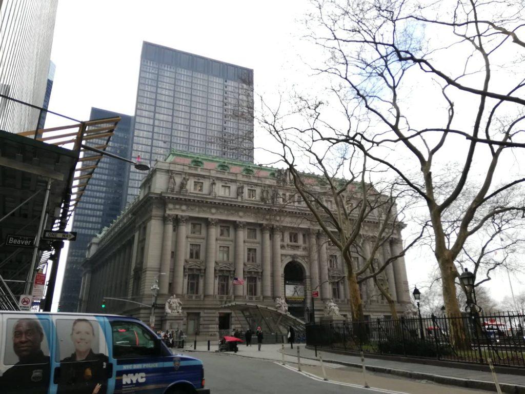 Area di Bowling Green - Attuale sede del toro di Wall Street