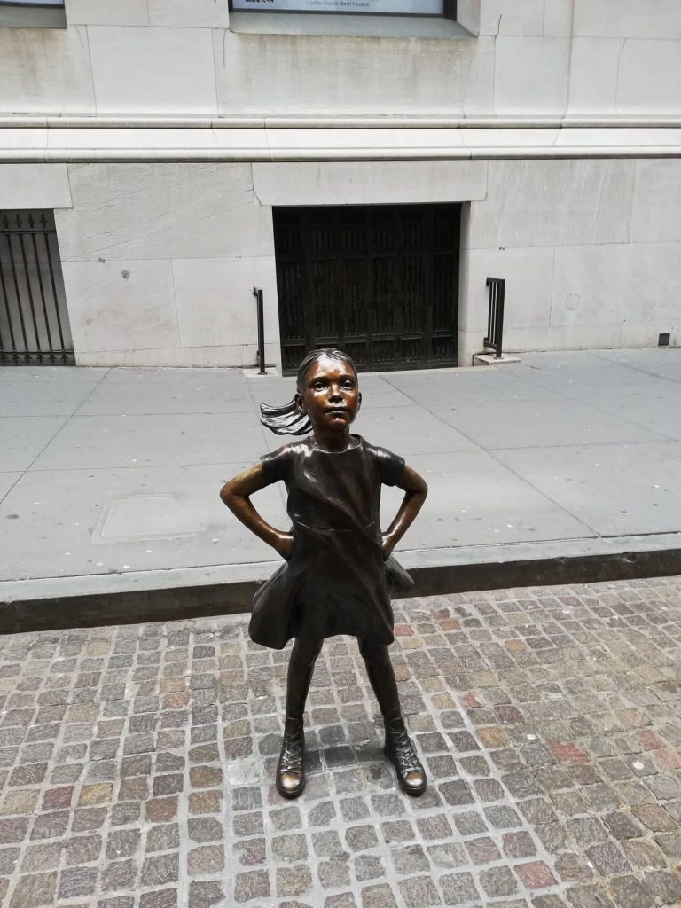 Fearless Girl Wall Street New York Stock Exchange