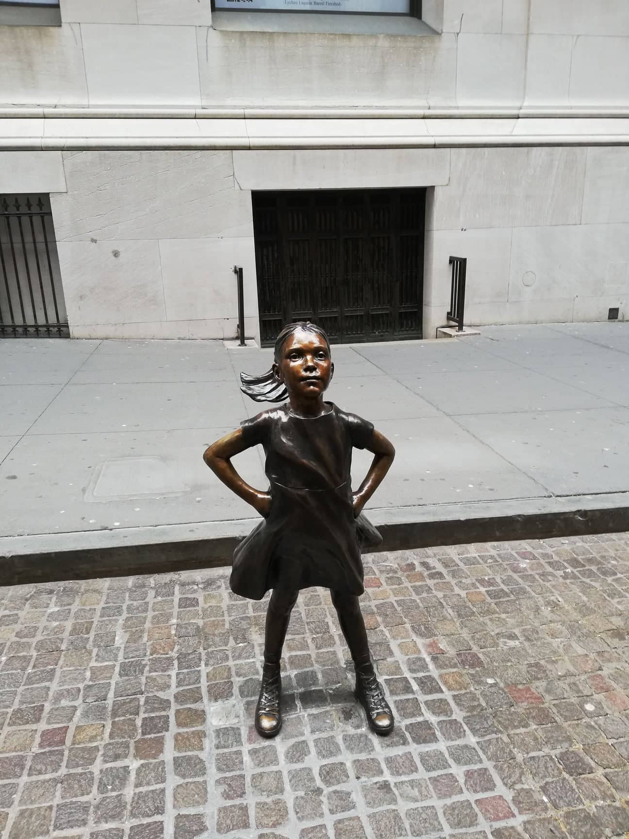 Fearless Girl Wall Street New York Stock Exchange
