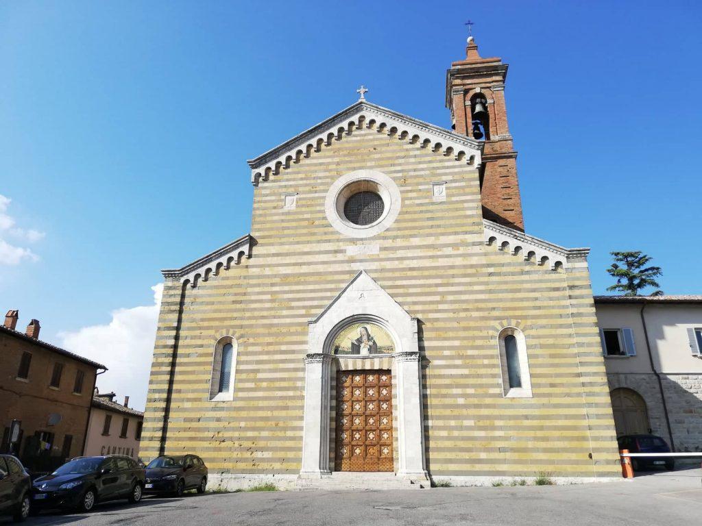 Montepulciano chiesa di Santa Agnese