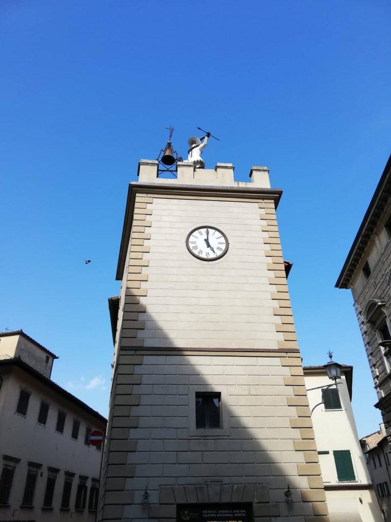 Montepulciano statua di Pulcinella