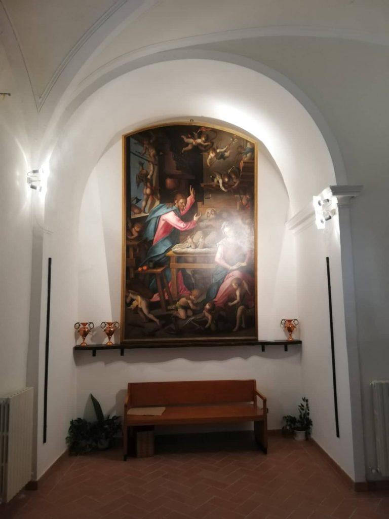 Il transito di San Giuseppe di Paolo Piazza - Chiesa di Santa Caterina - Cupramontana